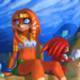 Tikal and Knuckle by anthony-p