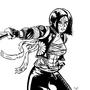 Inked Suicide Squad's Katana