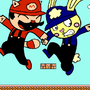 Cuddles in Super Mario Bros. 3 by Rosie1991