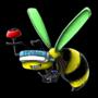 Bee logo by ApprenticeBlacksmith