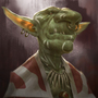 Goblin chief by SimonT