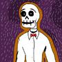 Tucker the skeleton by hughmclynn