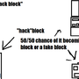 """hack""block idea by thecoorey"