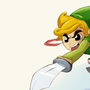 Link VS Ganon by mannyzworld