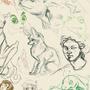 Sketch dump july 2016 by Newtface