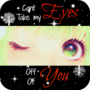 Can't Take My Eyes Off Of You by ZzCookieMonsterzZ