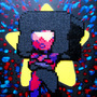 Garnet Perler Bead Project by Glugglor