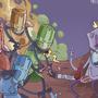 Castle Crashers King Badflash