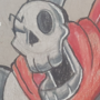 Neyhehe! papyrus is here! by HunterDrawz