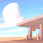 gas station by Sirmi