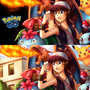 POKEMON GO FAN ART[WITH DRAWING VIDEO LINK] by irvintiu