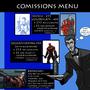 COMMISSIONS MENU by Sabrerine911