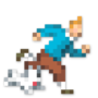 Day #113 - Tintin & Snowy by JinnDEvil