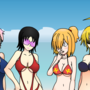 Newgrounds Annual Swimsuit Competition 2016 Group Pic by YomToxic