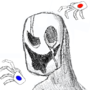 gaster face by blade2299