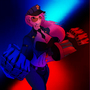 League of Legends - Officer Vi ( Colored ) by TheDeathMeister
