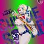harley quinn margot robbie fanart by akosta3201