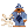 Day #119 - Sam & Max by JinnDEvil