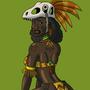 Raptor Priestess by BrandonP
