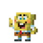 Day #122 - SpongeBob SquarePants by JinnDEvil