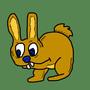 """""""a rabbit having fun"""" by mentorido"""