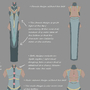 B&S costume design - details view. by Nyeko