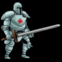 Knight Character Idle Test Animation by HagiuKover