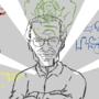 Stan Lee - Tale Teller (sketch) by TheIYouMe