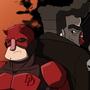 Daredevil&Punisher(NoManStyle) by SuperPhil64