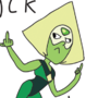 Peridot gives a big fuck you by perkberd