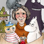 Tove Jansson and her Characters by Zkyf-Ink