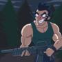 Larry goes hunting FANART by Vakingo