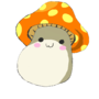 Orange MapleStory Mushroom by Poketoad