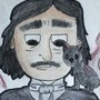 Edgar Allan Poe by paintingbubbles