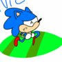 Running sonic gif by Luibluw