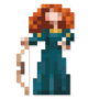 Day #134 - Princess Merida of DunBroch by JinnDEvil