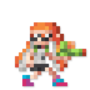 Day #135 - Inkling Girl by JinnDEvil