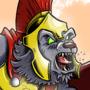 Spartan Werewolf by CrockerComics