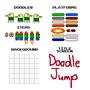 Doodle Jump (NES) Sprites by Rosie1991