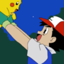 Ash blows up Pikachu