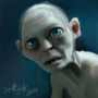 Gollum - Sméagol by AngelSkyXXIV