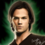 Sam Winchester cast by Jared Padalecki by AngelSkyXXIV