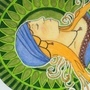 Mucha inspired lady by Merridrake