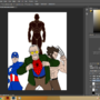 mid development Stan lee's creation by ANSHJAIN