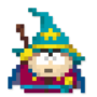 Day #143 - The Grand Wizard King (Eric Cartman) by JinnDEvil