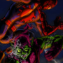 Spider-man vs Green Goblin by MWArt