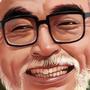 Hayao Miyazaki by Fifty-50
