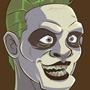 Suicide Squad Joker Headshot by geogant
