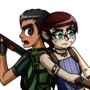 Commission - Leinim - Resident Evil 5 thing by FahBraccini