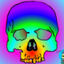 Colorfull skull by ericpolley